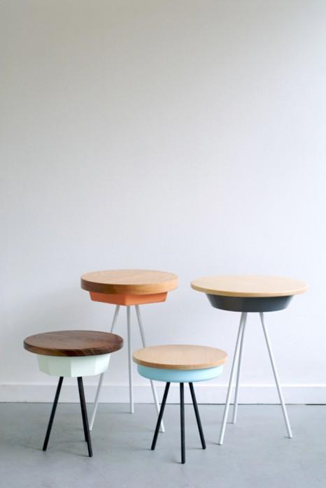 Skulpturen von der Stange. Der Tripod Table von Matthew Williams.